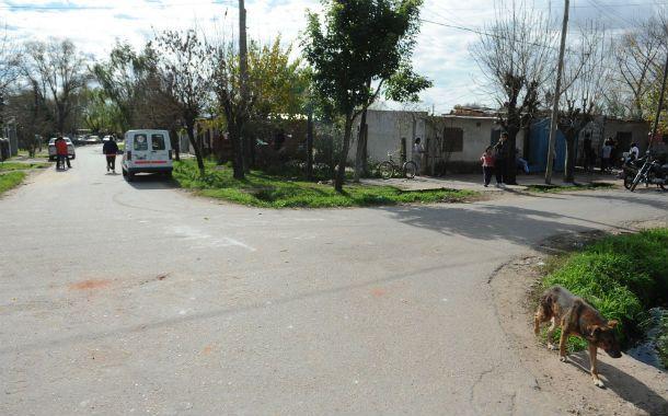 Violencia. El hecho ocurrió ayer a la madrugada en el barrio Stella Maris.