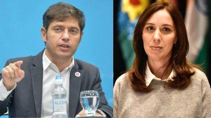 Axel Kicillof acusó a María Eugenia Vidal de repartir sobres durante su gobernación de Buenos Aires