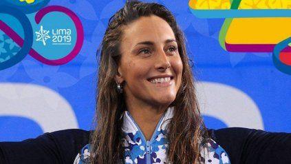La deportista cordobesa Virginia Bardach en Lima 2019, cuando se clasificó a los JJOO.