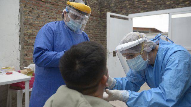 En Rosario se aceleró la curva de contagios por coronavirus en las últimas semanas.