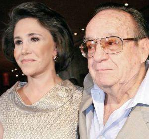Florinda Meza y Roberto Gómez
