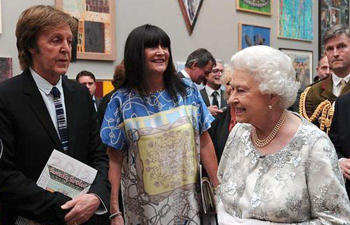 En 1997 Isabel II nombró caballero a Paul McCartney