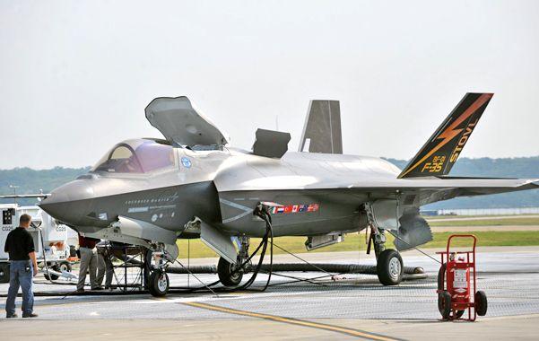 Alerta de seguridad. El F-35 Joint Strike Fighter
