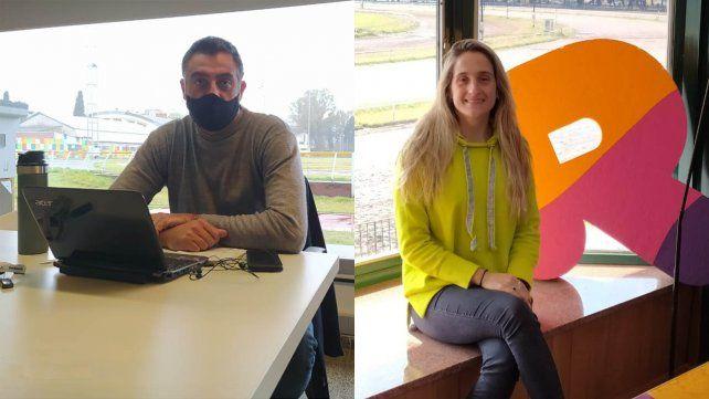 Jorge Balliengo y Sofía Sánchez, dos olímpicos que le ponen el pecho a la lucha contra el Covid-19