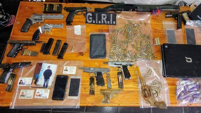 La policía incautó armas de todo tipo en lo que va del 2020.