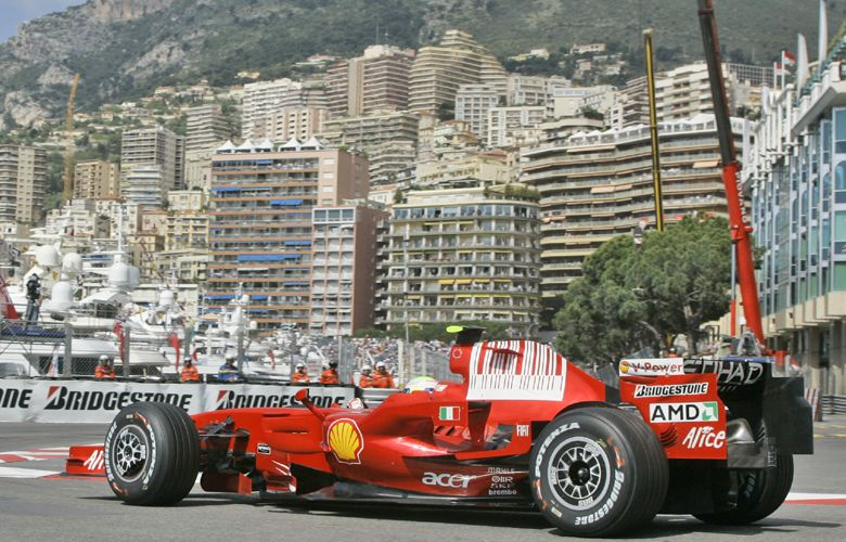 Fórmula 1: Raikkönen fue el más veloz en los ensayos del GP Mónaco