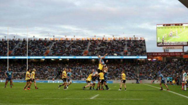 El regreso del Súper Rugby reunió a 43 mil personas en Nueva Zelanda