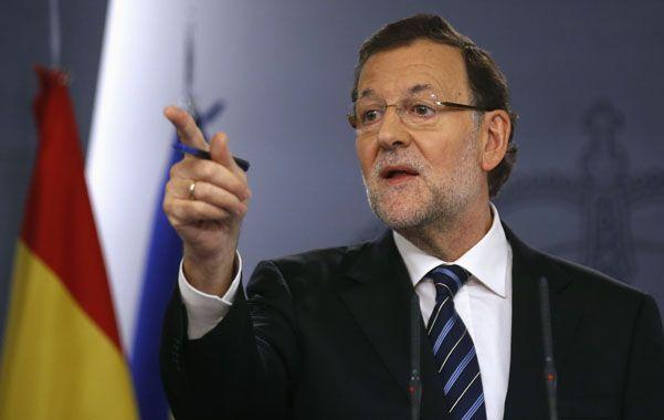Firme postura. El jefe de gobierno rechazó abrir un diálogo con Artur Mas.