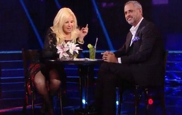 La diva fue entrevistada en su programa por Jorge Rial