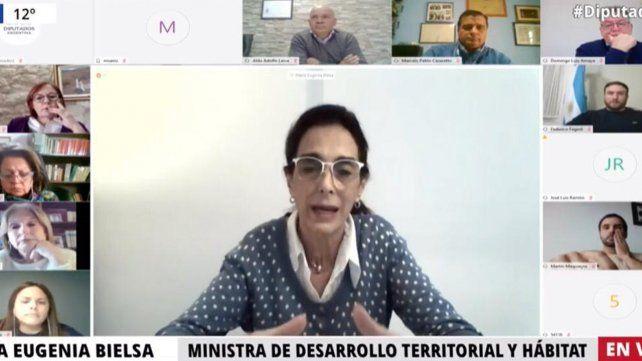 La videoconferencia brindada por la ministra de Desarrollo Territorial y Hábitat de la Nación
