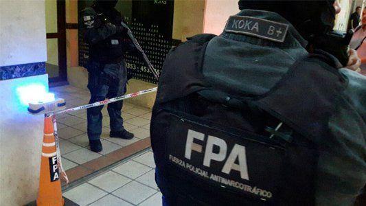 El procedimiento en el que quedó detenida la pareja se hizo en una vivienda de Villa María.