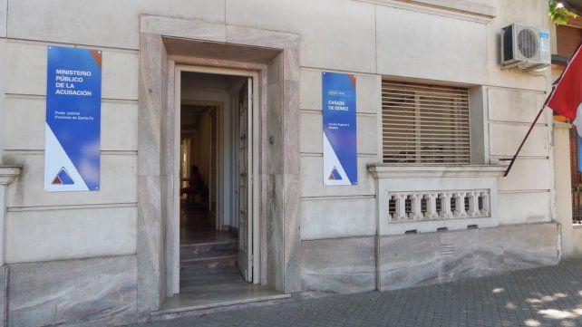 El caso es investigado por la Fiscalía de Cañada de Gómez.