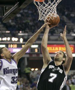 NBA: ganó San Antonio sin Ginóbili y cayó Houston