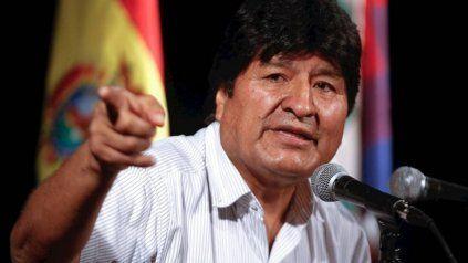 Evo Morales dijo que dijo que he tenido reuniones con Macri, pero ya no es compañero, vecino ni amigo cuando participa en un golpe de Estado.