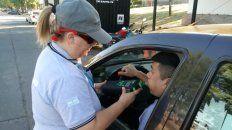 Dosaje en sangre. En la actualidad los conductores rosarinos pueden estar al volante con hasta 0.5 gramos