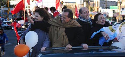 Giustiniani derrocha confianza: dice que el domingo gana por 4 puntos