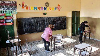 En febrero se podrá comenzar a vacunar contra el coronavirus al personal docente, sostuvo Cafiero.