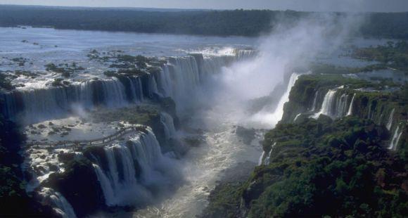 Las cataratas del Iguazú, una de las nuevas maravillas naturales
