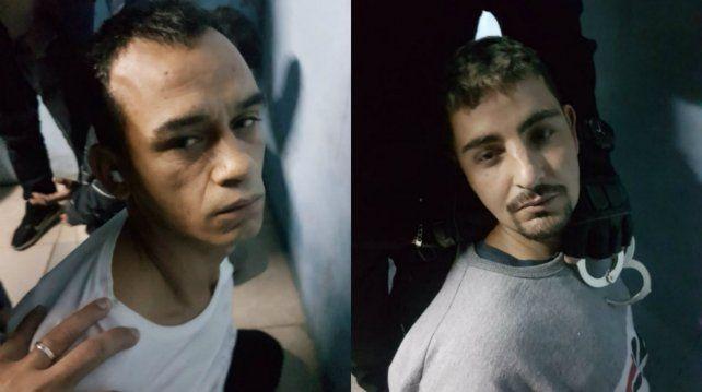 Recapturaron a dos de los reclusos que se fugaron en la autopista