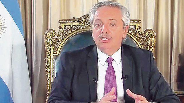 """Alberto Fernández; """"En una situación de alarma generalizada es imprescindible el rol del Estado""""."""