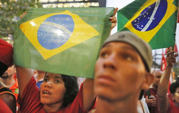 Crisis. Los brasileños están divididos sobre la responsabilidad de la presidenta Dilma Rousseff en los sobornos.