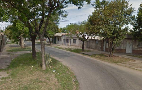 La esquina donde fue baleado el trabajador. (imagen: captura de Street View)
