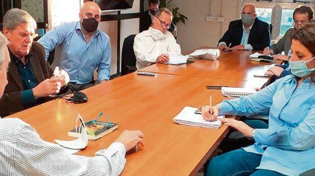 Vicentín. Diputados de la comisión de seguimiento de la crisis.