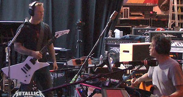 Extraña pareja: Metallica y Lou Reed grabaron juntos