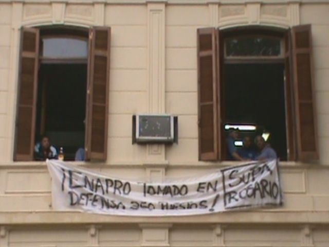 Puerto de la Música: la CGT abrió el diálogo entre las partes, pero el Enapro seguirá tomado
