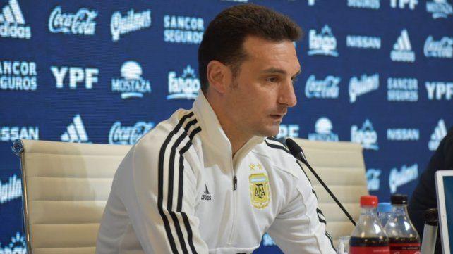 Con Messi, Agüero y Di María, Scaloni dio la lista para la Copa América