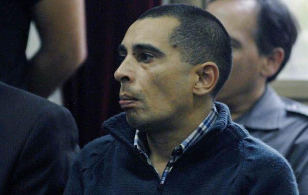 El condenado. Ariel Goncharuk atacó a su mujer y también a sus suegros.