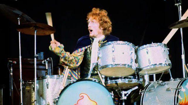 Murió a los 80 años Ginger Baker, el baterista de la mítica banda Cream