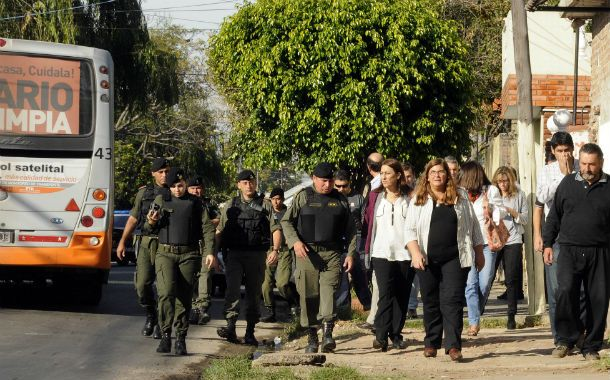 La intendenta Mónica Fein recorrió La Tablada