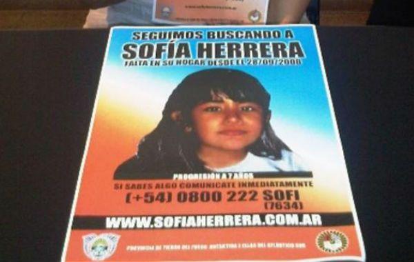 En septiembre se cumplirán cinco años de la desaparición de Sofía.
