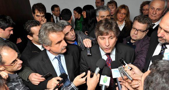 Boudou recordó el Síndrome de Estocolmo de Binner para defender a Fito Páez