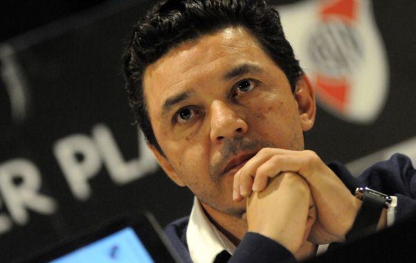 Confirmado. Gallardo dio el equipo que mañana enfrentará a Huracán.