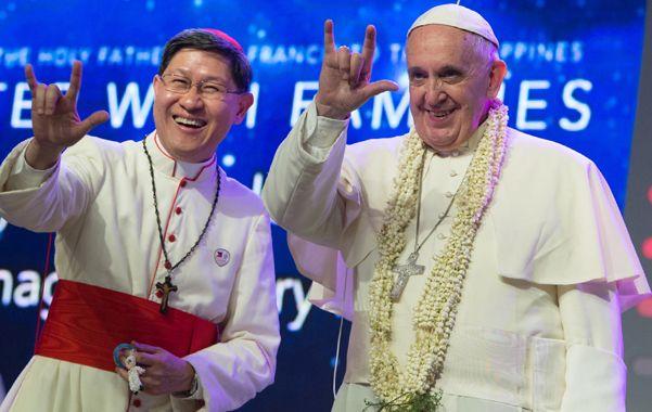 Cuernitos.  El Papa