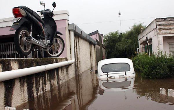 inundados. Numerosas poblaciones cordobesas continúan anegadas por el agua de las lluvias y los desbordes.