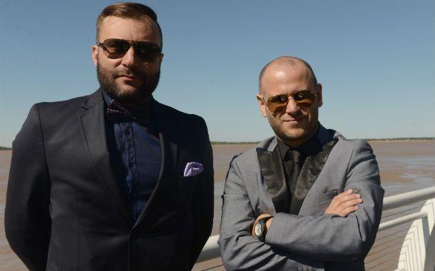 Defensores. Los abogados Paul Krupnik y José Nanni llevan adelante la representación del policía Sergio Blanche.