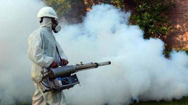 Las fumigaciones ayudan a prevenir la proliferación del mosquito.