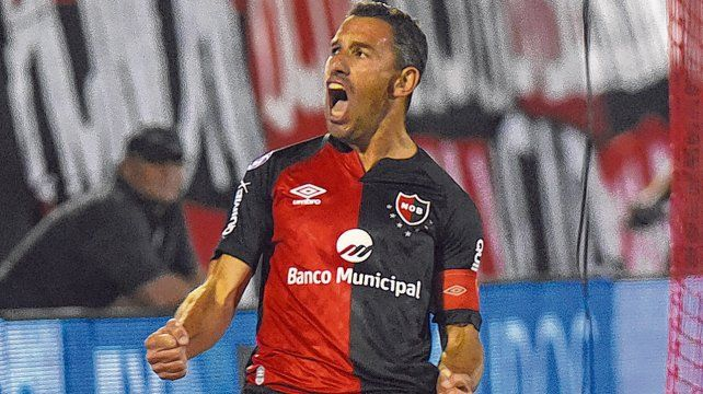Rugido. Maximiliano Rodríguez es el emblema rojinegro. La Fiera acumula seis gritos en la actual Superliga.