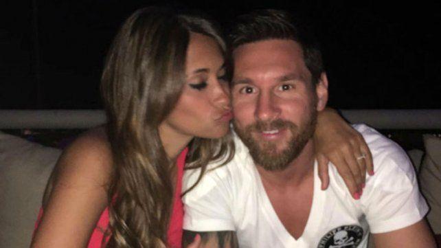 Romántico mensaje de Antonella para los 30 años de Leo Messi