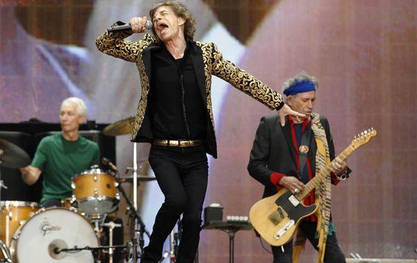 En casa. Mick Jagger