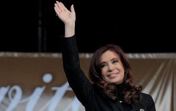 Cristina dijo que tiene la inmensa responsabilidad de conducir a la Patria en momentos que no son fáciles.