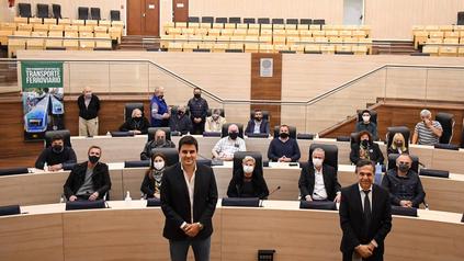La reunión se realizó en el Concejo Municipal.