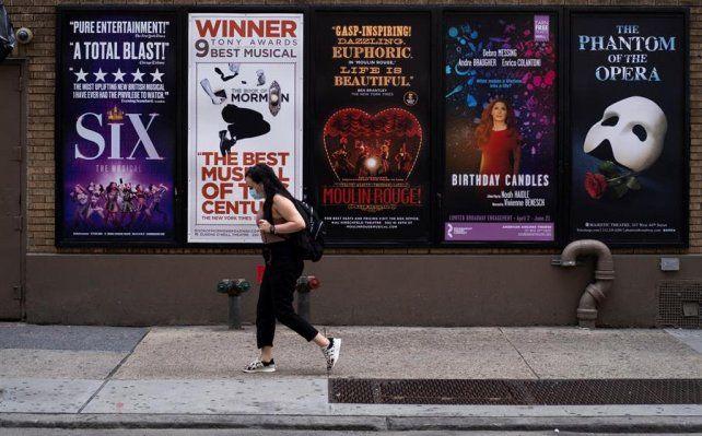 Los teatros en Manhattan