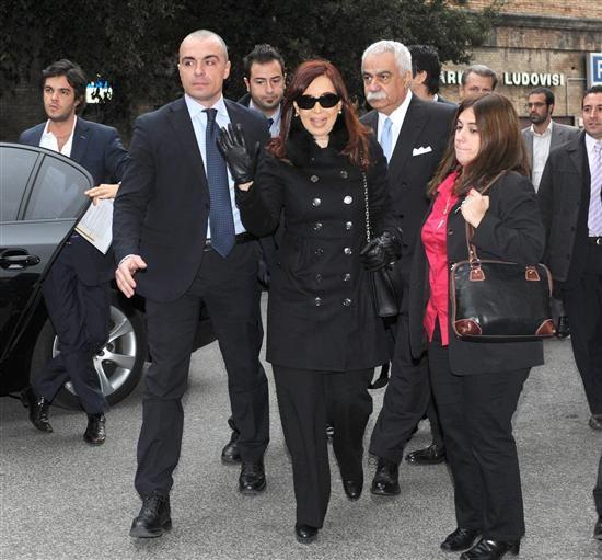 La jefa de Estado arribó pasadas las 11 hora local (7 de la Argentina) a Italia. (Foto de archivo de carácter ilustrativo)