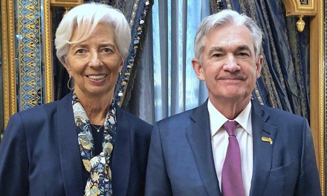 """Powell y Lagarde creen que en realidad la tasa """"real"""" es mucho más alta."""