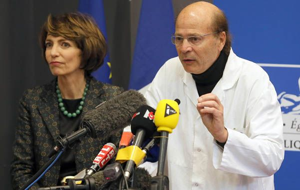 Voz oficial. La ministra de Salud francesa