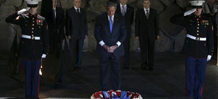 Bush terminó su visita a Tierra Santa y viaja a países árabes